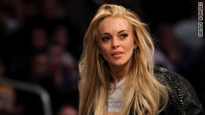 Lindsay Lohan is currently on supervised probation for a drunk driving conviction.