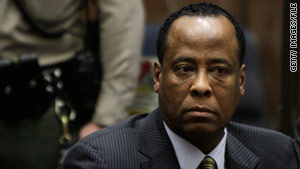 Dr. Conrad Murray has pleaded not guilty in the 2009 death of pop star Michael Jackson.