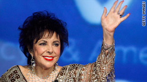 Elizabeth Taylor used Twitter to talk to fans about her heart operation in October 2009.