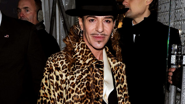 Designer John Galliano's comments were reportedly made at a bar in Paris in October.