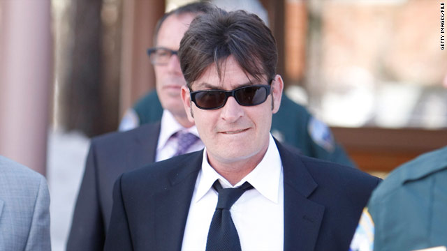 Charlie Sheen, shown here leaving court in March 2010, was outspoken Monday during appearances on ABC, NBC and TMZ.