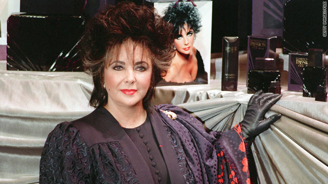 Elizabeth Taylor debuted Passion for Men in Paris in 1989.