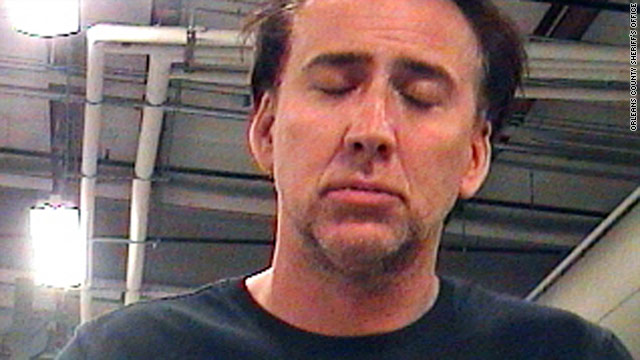 Nicolas Cage was arrested by New Orleans police on Saturday.