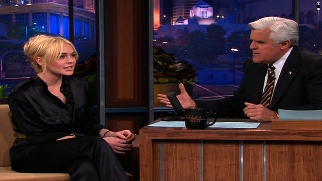 "Lindsay Lohan admitted on ""The Tonight Show with Jay Leno,"" that she has made mistakes in the past, but she's ready to change."