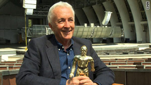 "Anthony Daniels has been with ""Star Wars: In Concert"" since its London premiere in April 2009."