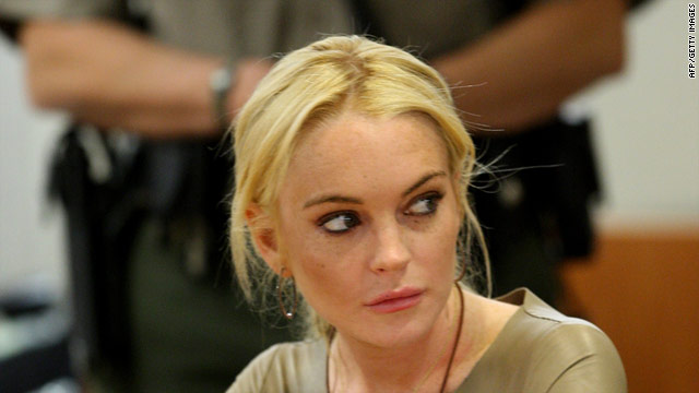 Lindsay Lohan appears in court in March on a count of felony grand theft. She is not expected to appear in court Wednesday.