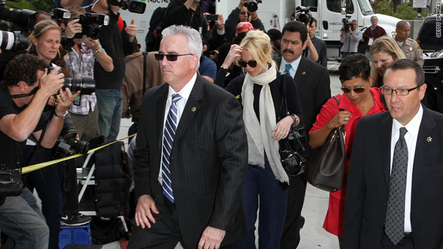 Lindsay Lohan arrives for a preliminary hearing on April 22, 2011 at the Airport Courthouse in Los Angeles.