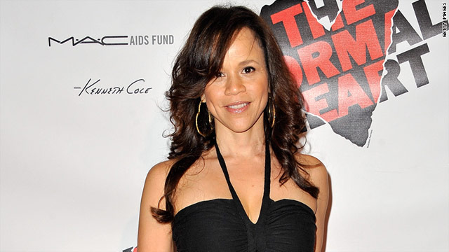 "Rosie Perez claims she was injured while taping an episode of ""Law & Order Special Victims Unit"" in 2009."