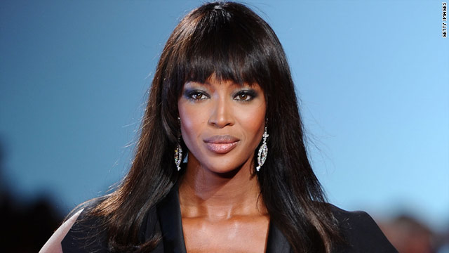 naomi campbell at night