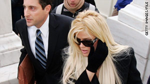 The estate of late actress Anna Nicole Smith has lost a Supreme Court battle over her deceased husband's fortune.