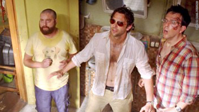 "A stunt actor is suing Warner Bros. studio claiming he suffered brain damage while working on ""Hangover 2."""