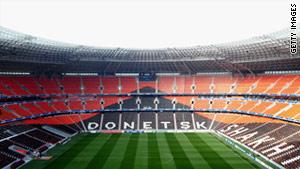 Ukraine gets makeover for Euro 2012
