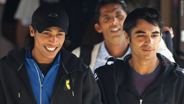 Mohammad Amir (left) and Salman Butt (right) will find out on Saturday if they will face ICC sanctions.