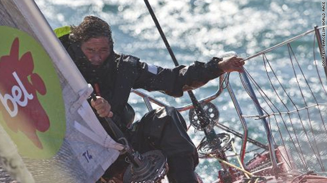 Competitors in the Barcelona World Race face sleep deprivation, cramped living quarters and a diet of freeze-dried food.