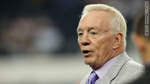 The $5 million lawsuit names Dallas Cowboys owner Jerry Jones, the Cowboys and the NFL as defendants.