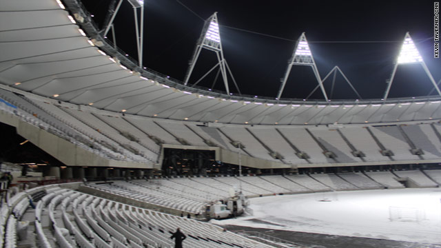 London's new Olympic Stadium will stage the glamor event of the 2012 Games, the men's 100-meters final, on August 5.