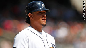 "An arrest affidavit said Miguel Cabrera refused to submit to a breath test and had ""a strong odor of an alcoholic beverage."""