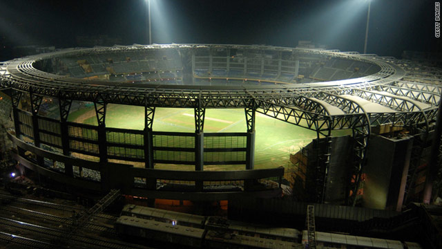 The Wankhede Stadium in Mumbai is scheduled to stage the final of the 2011 Cricket World Cup in April.