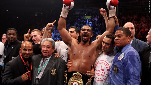David Haye has a chance to unify the world heavyweight title when he faces Wladimir Klitschko in Germany.