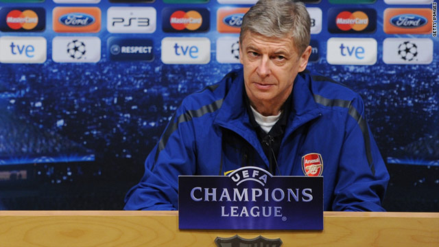 Arsene Wenger denies UEFA's charge of improper conduct following his clash with referee Massimo Busacca.