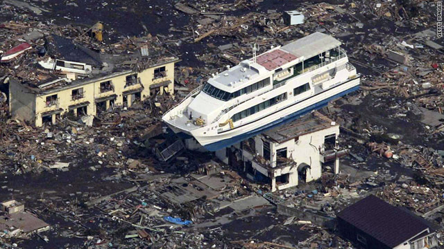 Friday's earthquake and subsequent tsunami wreaked havoc on Japan.