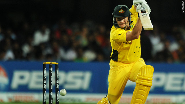All-rounder Watson continued his superb form with a quickfire 94 as Australia beat Canada.