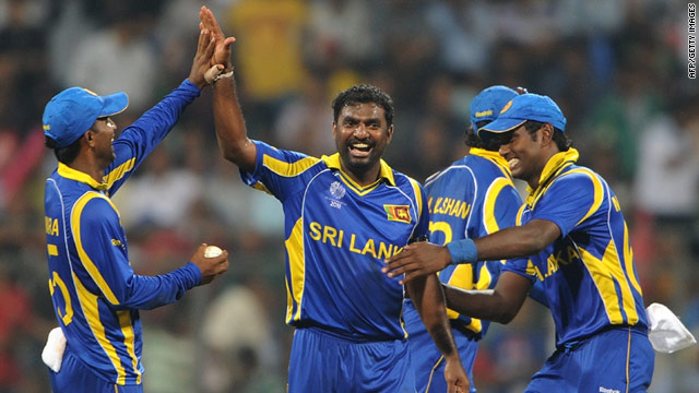 Muttiah Muralitharan, who retires next month, needs eight wickets to become the highest wicket-taker in World Cup history.