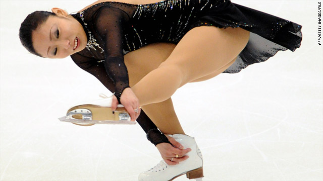 Japan's Miki Ando performs at the ISU Four Continents Figure Skating Championships in Taipei on February 20, 2011.