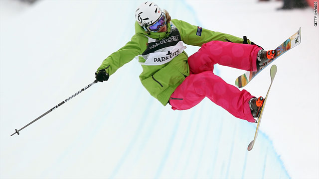 Canada's Rosalind Groenewoud won gold in the women's half-pipe at the Freestyle World Ski Championships in February.