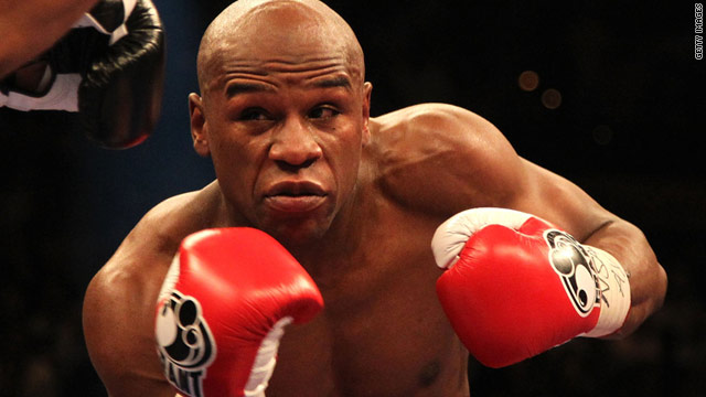 Floyd Mayweather enjoyed victory over Shane Mosley last time out in May 2010.