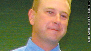 Shannon Stone, 39, was a firefighter in Brownwood, Texas.
