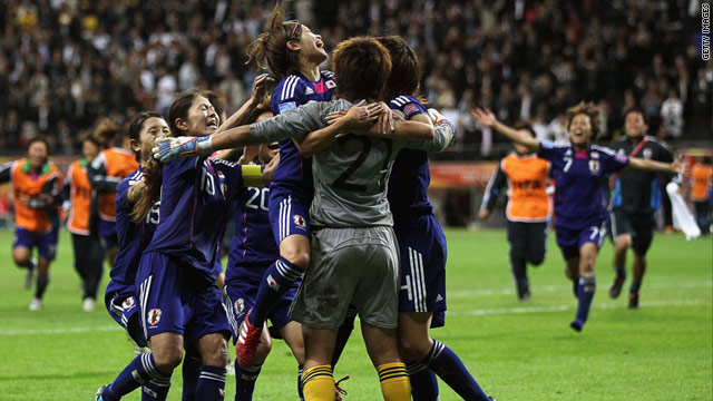 Japan defeated the United States in the Women's World Cup final on Sunday.