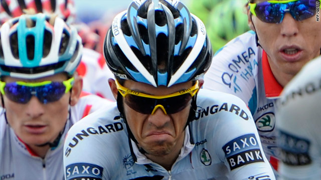Alberto Contador has had to battle a first stage set back and indifferent form on this year's Tour de France.