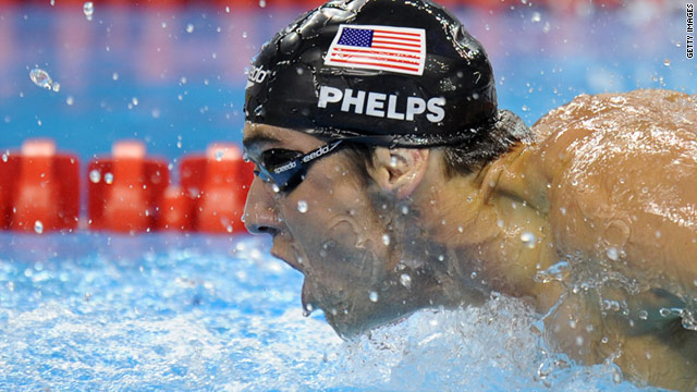 Michael Phelps finally landed a gold medal at the World Swimming Championships in Shanghai.