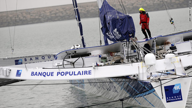 Maxi Blanque Populaire smashed the best time for a Fastnet race victory by a mammoth seven hours, 48 minutes.