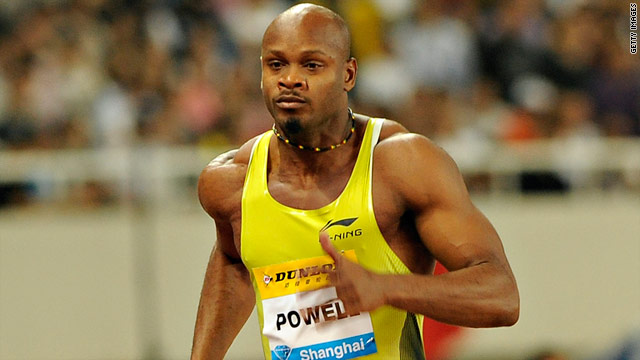 Asafa Powell has won Olympic and World Championship gold medals as part of the Jamaican 4 x 100m relay team.