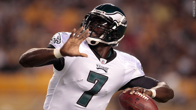 Michael Vick enjoyed an outstanding season for the Philadelphia Eagles, setting new career records.