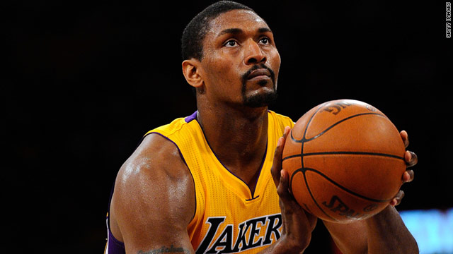 NBA star Ron Artest will change his name to Metta World Peace.