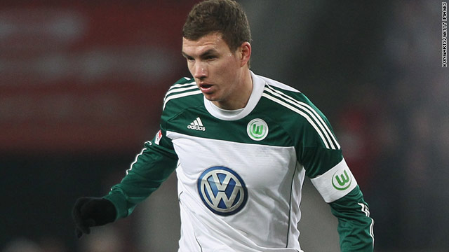 $42M Dzeko Targets Titles With Manchester City; Transfer