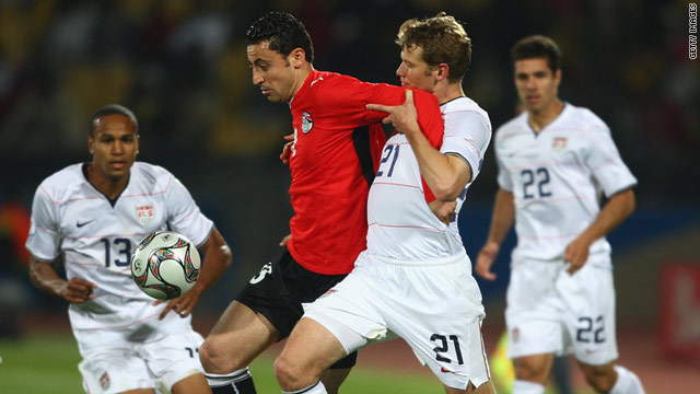 The U.S. beat Egypt 3-0 at the 2009 Confederations Cup in South Africa before losing to Brazil in the final.