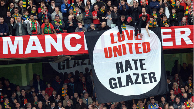 The Glazers have been unpopular with some Manchester United fans since taking over the club in 2005.