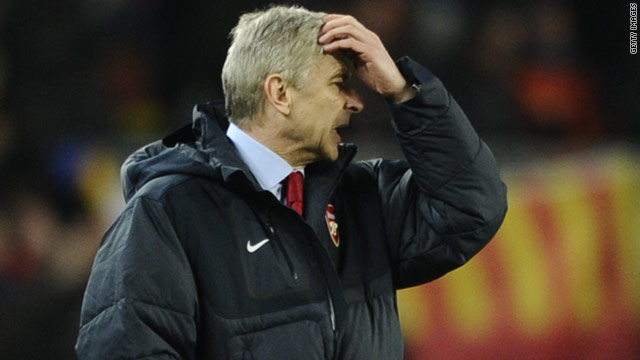 Arsenal manager Arsene Wenger was left frustrated after his side's 3-1 defeat to Barcelona on Tuesday.
