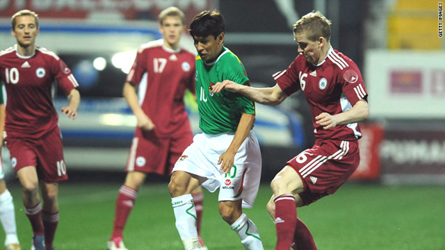 Bolivia beat Latvia 2-1 in the first of two international friendlies played in Antalya last month.