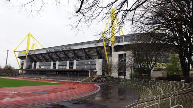 bomb plot thwarted at borussia dortmund 39 s stadium. Black Bedroom Furniture Sets. Home Design Ideas