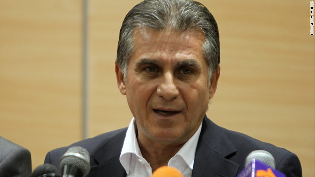 Carlos Queiroz has changed his mind and decided to take the job as Iran's national football coach until after the 2010 World Cup.
