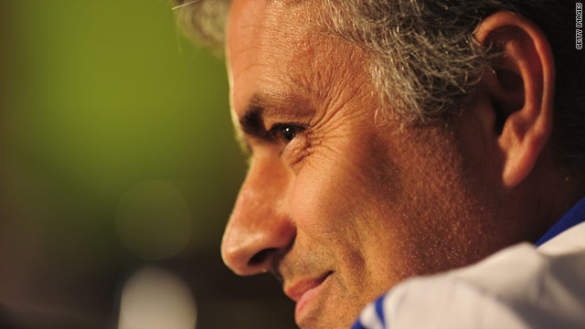 Jose Mourinho kept tight-lipped ahead of his side's El Clasico showdown at the Bernabeu.