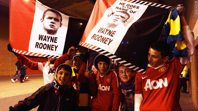 Manchester United's large fanbase is one factor behind the English club's rating as the most valuable in world soccer.