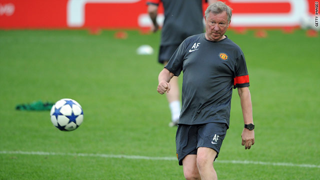 Alex Ferguson's team have been in the semifinals of the Champions League for four of the last five seasons.