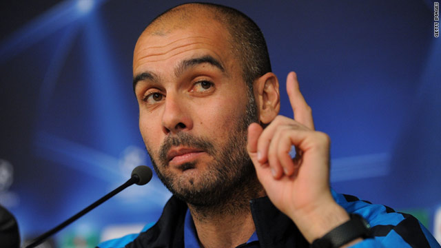 Guardiola has already won two Spanish League title, one Copa del Rey and one Champions League in three years as coach.