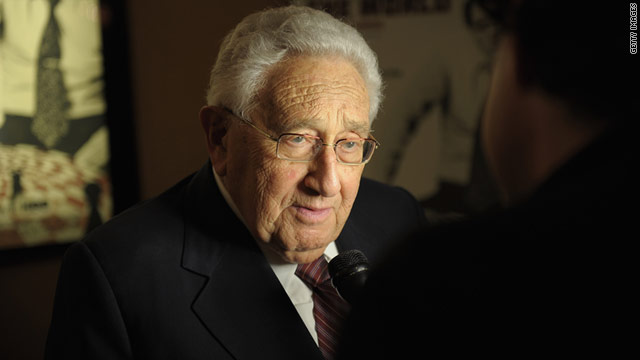 FIFA president Sepp Blatter mentioned Henry Kissinger as someone who could help reform soccer's governing body.